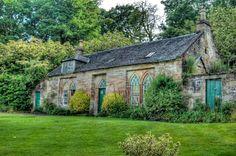 Caprington Castle garden house, Kilmarnock, Scotland -