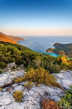 "Top of the ""Green island"" - Mljet National Park."