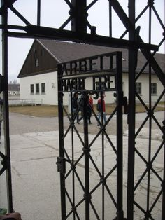 Dachau Concentration Camp in Germany.  A reminder of the horrendous atrocities committed by Hitler's followers.