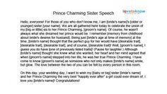 Maid of honor speech #1