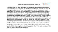 sister in law bridesmaid poem - Google Search