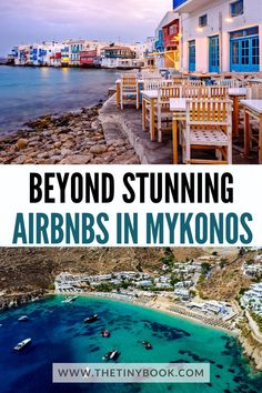 Discover the best Airbnbs in Mykonos, Greece: Gorgeous homes and villas in Greece's top-rated island for fun and entertaining holidays. World Travel Guide, Europe Travel Guide, Travel Destinations, Travel Abroad, Budget Travel, Travel Guides, Greece Tourist Attractions, Beautiful Places To Visit, Beautiful Hotels