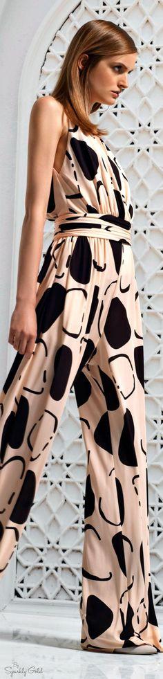 Dots Fashion, Fashion Outfits, Womens Fashion, Fashion 2016, Fashion Clothes, Gianni Versace, Long Jumpsuits, Jumpsuits For Women, Maxi Styles