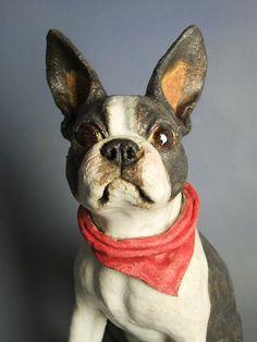 Beautiful work Boston terrier