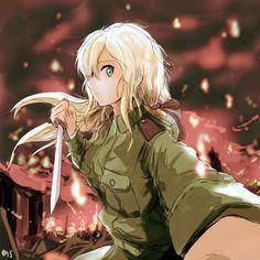 Art Anime, Anime Nerd, Manga Anime, Blue Exorcist, Female Characters, Anime Characters, Violet Evergreen, Violet Garden, Blonde Anime Girl