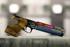 The New Laser Gun that will replace air guns in the London 2012 Olympics