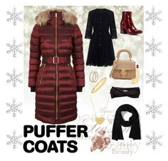"""Puffer Coat Paradise"" by princess-t16 ❤ liked on Polyvore featuring Burberry, Theory, Kenneth Cole, Christian Louboutin, Eugenia Kim, Roberto Coin, Boucheron, Johnny Was, Everlane and By Terry"