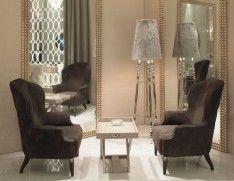 Designer Italian Lounge Chairs Luxury Occasional Chairs: Nella Vetrina