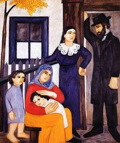Goncharova, Natalia (1881-1962) - 1912 Jewish Family by RasMarley, via Flickr