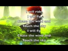 Brave - Touch the Sky Love me some Disney music Disney Songs, Disney Music, Music Tv, Music Bands, Clean Up Song, Kite Quotes, Running In Cold Weather, Walt Disney Records, Dark Roots
