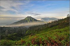 Kawah Ijen - Mount Pendil / Mount Raung ( to incease) - by DiBe, Java