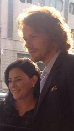 A lovely photo of Diana and Sam...in NYC