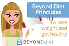 Beyond Diet principles to help you lose weight and get healthy!