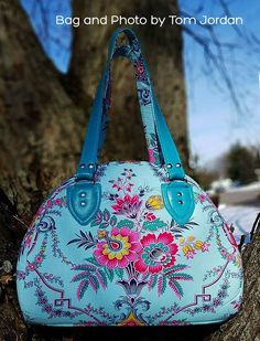 Sew a Bowler-style Handbag or Weekend Bag A Sewing ePattern from RLR Creations