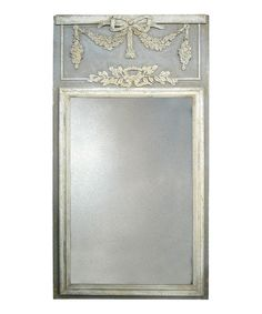 Look at this Gold & Gray Wall Mirror on #zulily today!