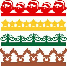 Welcome to the Silhouette Design Store, your source for craft machine cut files, fonts, SVGs, and other digital content for use with the Silhouette CAMEO® and other electronic cutting machines. Christmas Mini Albums, Christmas Border, Christmas Scrapbook, Christmas Minis, Diy Christmas Ornaments, Christmas Pictures, Christmas Art, Christmas Stencils, Christmas Templates