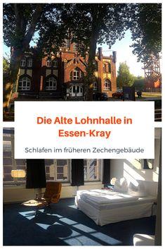 DIE ALTE LOHNHALLE IST EINMALIG IN DEUTSCHLAND - Wo früher die Bergleute den Lohn für ihre harte Arbeit in Empfang nahmen, werden heute die Gäste eingecheckt. Und deshalb gehört sie zu meiner TOP 5 der originellsten NRW-Hotels. Ihr werden überrascht sein, was die Hotelszene mittlerweile alles zu bieten hat.