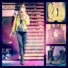 Miley Cyrus Outfit Style Clothes
