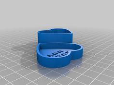 Message Heart Box by JadeKnight 3d Printer Models, Box, Snare Drum