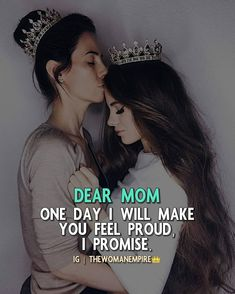 Pin by Mashaba on self love Love My Parents Quotes, Mom And Dad Quotes, Daughter Love Quotes, I Love My Parents, Love U Mom, Crazy Girl Quotes, Dear Mom, Girly Quotes, Mother Quotes