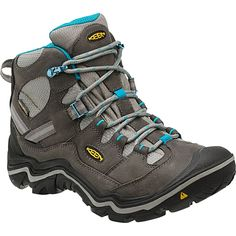 Durand Mid Waterproof Hiking Shoes: These premium day hiking shoes are designed in Portland, Oregon, where they know a bit about rain, and even more about comfort and style. Waterproof Hiking Boots, Waterproof Shoes, Hiking Boots Women, Hiking Shoes, Backpacking Boots, Capri, Keen Shoes, How To Make Shorts, Shoe Boots