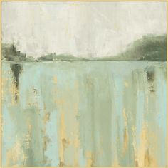 The slightly abstract nature of this lake wall art evokes a calming and relaxing feeling. Picked by Kandree Eldredge Abstract Nature, Abstract Landscape, Landscape Paintings, Abstract Art, Art Paintings, Angel Paintings, Landscape Design, Abstract Paintings, Landscapes