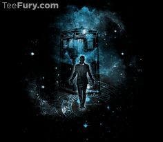 Time Traveller by kharmazero - Shirt sold on August 7th at teefury.com - More by the artist at kharmazero.tumblr...