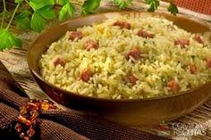 Receita de Carreteiro de linguiça em receitas de arroz, veja essa e outras…