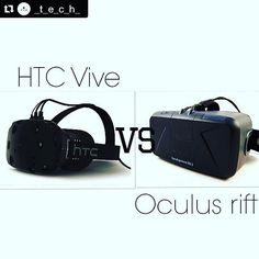 #htcvive vs #oculusrift... who gets your vote? #virtualreality #virtualexperience #vr #gaming #vrgaming #virtualrealitygames #oculus #htc #vrheadset #gaminggiants #gamesinvr #gamer #unity #madewithunity #vote #brighton Thanks @_t_e_c_h_