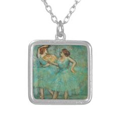 Two Dancers by Edgar Degas Jewelry