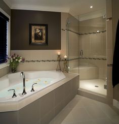 Relaxing Master Bathroom Bathtub Remodel Ideas 47
