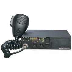 40-Channel CB Radio with 10 NOAA Weather Channels - COBRA ELECTRONICS - 18 WX ST II