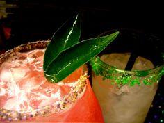 Two Mardi Gras Drinks