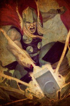 Thor By Julian Totino Tedesco