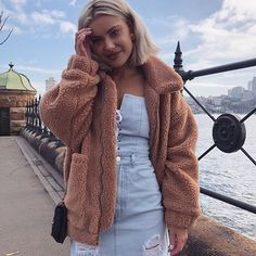 Fashion Look Featuring Goodnight Macaroon Casual Jackets and Missguided Casual Jackets by Miszkiczka - ShopStyle Teen Fashion, Winter Fashion, Fashion Ideas, Fashion Inspiration, Collage Outfits, Laura Jade Stone, Fall Looks, Fall Winter Outfits, Casual Outfits