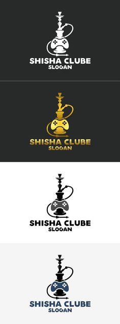Shisha Clube Logo #abstract #arabic