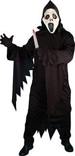 Black Screamer Costume (Medium) Halloween Costume http://www.partypacks.co.uk/black-screamer-costume-medium-pid71646.html