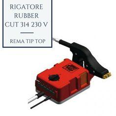 """TYRE CUTTER 314 #RemaTipTop è l'attrezzo per rigare i profili di tutti i tipi di battistrada. La versione RC 314 ha 4 impostazioni di temperatura per adattarsi alle differenti velocità di taglio. Il trasformatore separato dalla pistola di rigatura permette di lavorare facilmente e senza aumentare la fatuca dell'Operatore. Tecnologia avanzata con tutti i tipi di certificazione. Ideale con le misure di lame """"R"""" e """"W"""" FIX."""