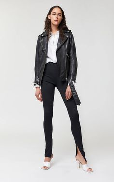 Moto Jacket, Leather Jacket, Faux Leather Pants, Who What Wear, Beautiful Outfits, Chloe, Black Jeans, Nordstrom, Style Inspiration