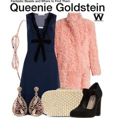 Inspired by Fine Frenzy as Queenie Goldstein in 2016's Fantastic Beasts and Where to Find Them