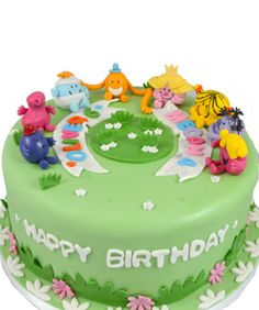 Mr Men  Little Miss Birthday Cake Mr Men  Little Miss Icing - Little miss birthday cake