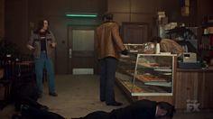 "Fargo 2x04 ""Fear and Trembling"" - Dodd Gerhardt (Jeffrey Donovan) & Charlie Gerhardt (Allan Dobrescu)"