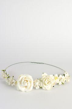 Rose Flower Crown