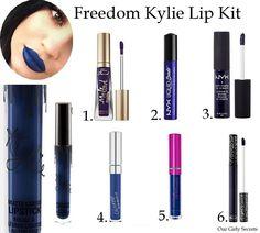 Our Girly Secrets: Dupes : Kylie Jenner Lip Kit #2 !