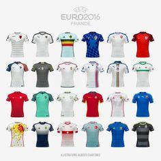 Uefa Euro 2016, Behance, Gallery