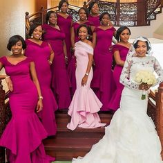 Nigerian weddings on fb Mermaid Bridesmaid Dresses, Bridal Dresses, Reception Dresses, African Fashion Dresses, African Dress, Wedding Attire, Wedding Gowns, Wedding Bride, Briadsmaid Dresses