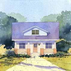 bungalow_5 by Don Gore (dgdraws), via Flickr