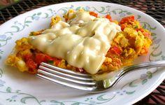Venezuelan Scrambled Eggs - Perico Venezolano