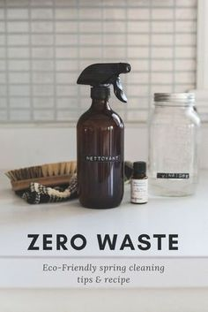 Eco-Friendly spring cleaning DIY zero waste natural// Here are a few tips and tricks that are not only safe for the environment but for yourself as well. Deep Cleaning Tips, House Cleaning Tips, Natural Cleaning Products, Spring Cleaning, Cleaning Hacks, Diy Hacks, Cleaning Spray, Green Cleaning, Cleaning Supplies