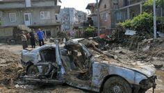 Bulgaristan'da sel felaketi